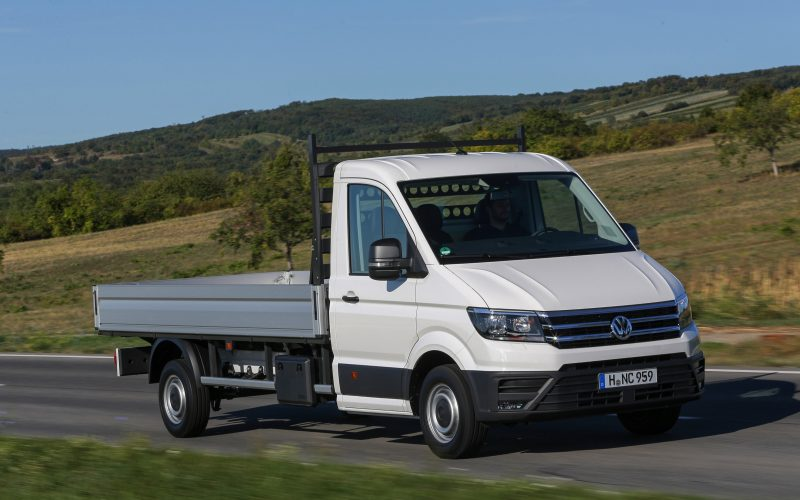 Volkswagen Crafter Chassis chez BYmyCAR